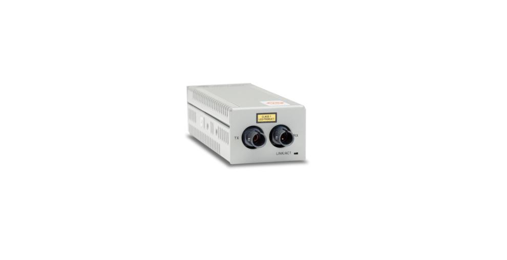 Allied Telesis Allied Telesis Desktop Mini Media Converter, 100TX to 100FX ST Connector